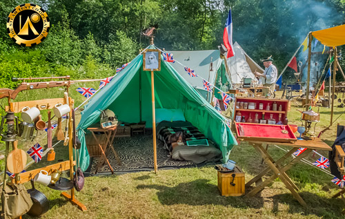 The Steam Tent Co-operative. Steampunk camping at Blists Hill 2018. - The Steam Tent Co-operative. © Gary Waidson - www.Steamtent.uk
