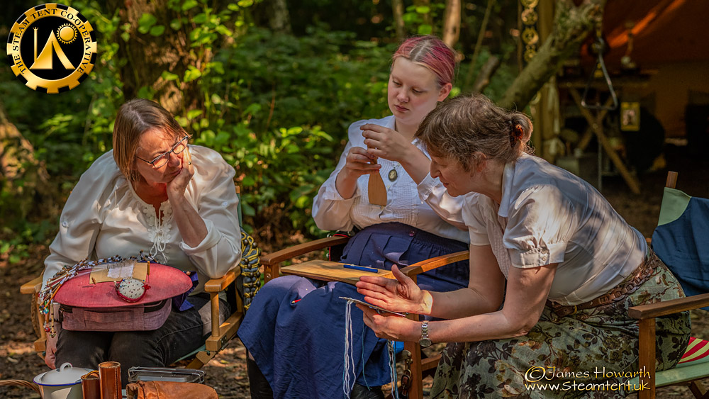 The Craft Camp. The Steam Tent Co-operative. © Gary Waidson - www.Steamtent.uk