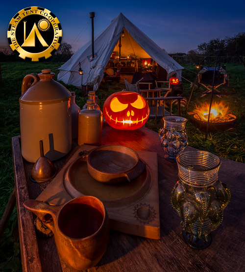 Halloween Camp 2018 - The Steam Tent Co-operative. © Gary Waidson - www.Steamtent.uk