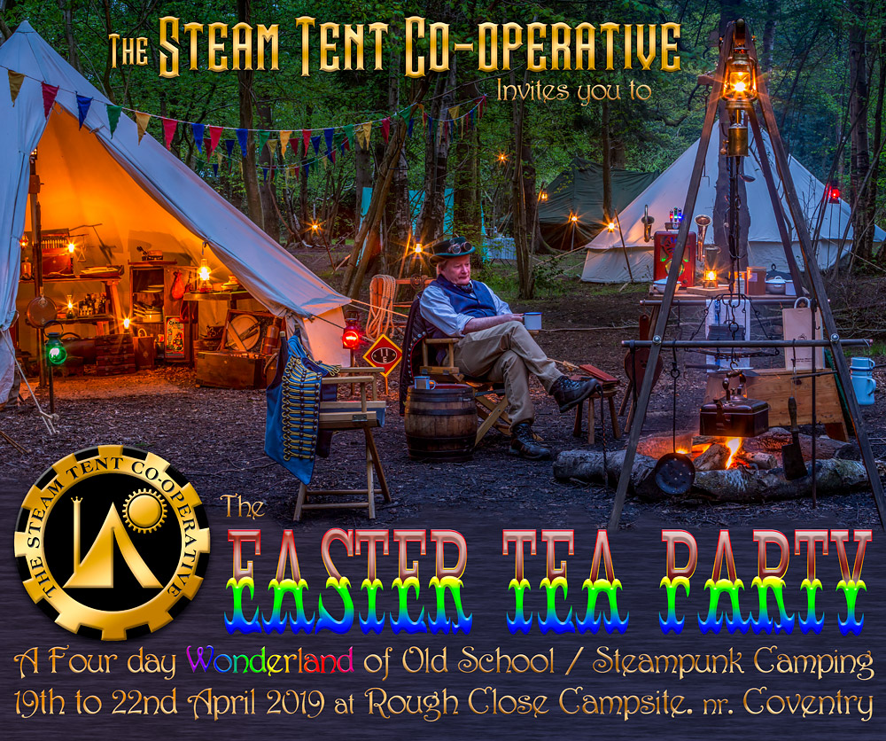 The-Steam-Tent-Co-operative---Easter-Camp © Gary Waidson - www.Steamtent.uk