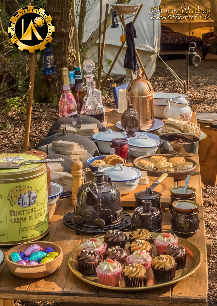 The Easter Tea Party 2019 - The Steam Tent Co-operative. © Gary Waidson - www.Steamtent.uk