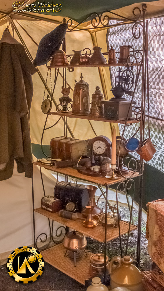 The Shelving - The Easter Tea Party 2019 - The Steam Tent Co-operative. © Gary Waidson - www.Steamtent.uk