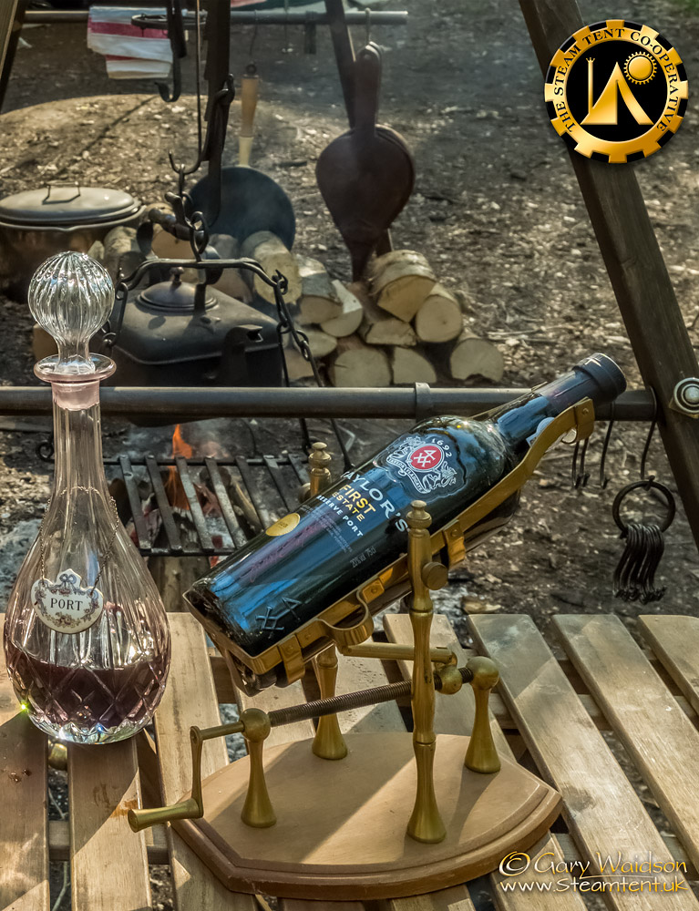 Libations - The Easter Tea Party 2019 - The Steam Tent Co-operative. © Gary Waidson - www.Steamtent.uk