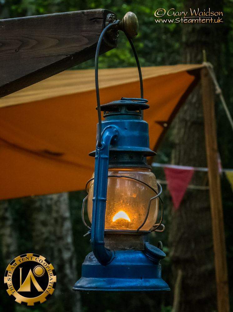 Hurricane Lamp - The Easter Tea Party 2019 - The Steam Tent Co-operative. © Gary Waidson - www.Steamtent.uk